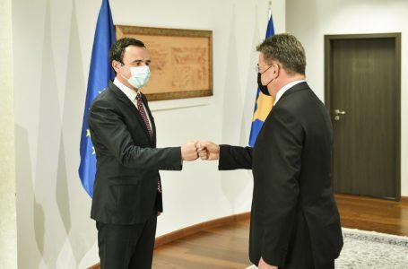 Kurti-Lajçakut: Kosova është palë e barabartë në dialog, jo temë