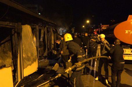 Tetovë, trupat e viktimave nga zjarri u dorëzohen familjarëve