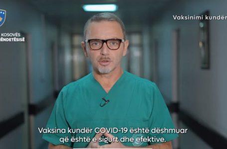 Ministria e Shëndetësisë me video senziblizuese për vaksinim