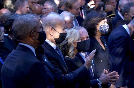 Ceremonia përkujtimore për 11 shtatorin – Biden, Clinton dhe Obama nderojnë viktimat në New York
