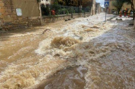 Përmbytje masive në jug të Francës