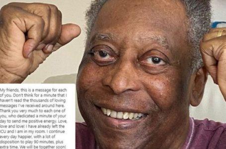 Pele lirohet nga spitali, derisa tregon për problemin shëndetësor që kishte