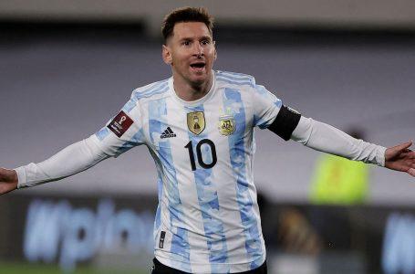 Messi thyen rekordin e legjendës braziliane Pele