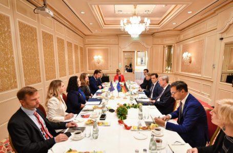 Osmani fton bizneset gjermane të investojnë në Kosovë