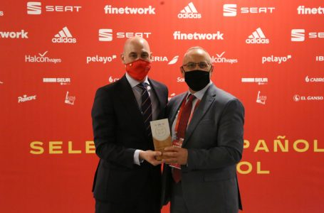 Presidenti i FFK-së Ademi mirëpret homologun e tij Luis Rubiales