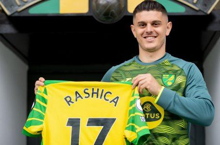 Norwich City zgjedh Rashicën si lojtarin më të mirë të muajit gusht