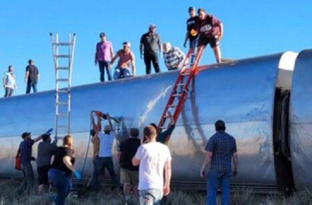 SHBA, treni del nga shinat, tre të vdekur dhe dhjetëra të plagosur (VIDEO)