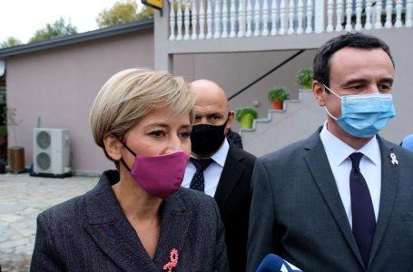 Kryeministri Kurti në mbështejte të Mimoza Kusari- Lilës në garën për Gjakovën- E SPONSORIZUAR