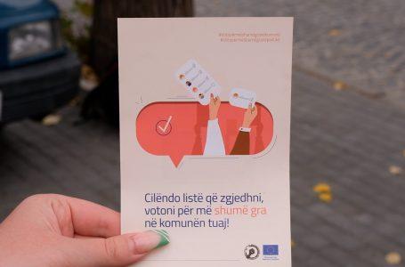 """RRGK fillon fushaten """"Voto për më shumë gra në zgjedhjet lokale"""""""