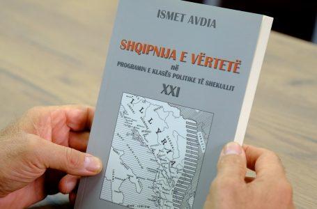 """Promovohet libri """"Shqipnija e vërtetë në programin e klasës politike të shek. XXI"""""""