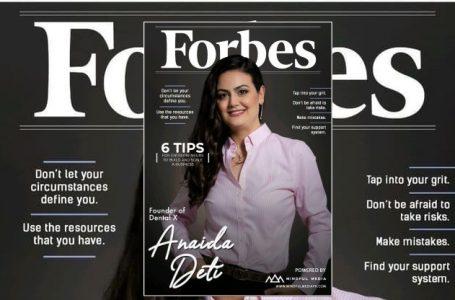 Shqiptarja Anaida Deti me profil suksesi në ballinën e revistës 'Forbes'
