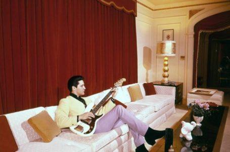 Pamje të rralla të ikonës së muzikës, Elvis Presley