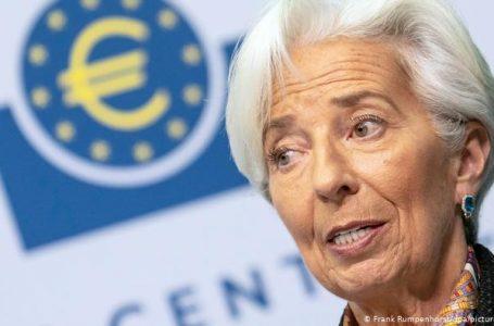 Lagarde: Ekonomia e BE-së ende nuk ka dalë nga kriza e shkaktuar nga pandemia COVID-19