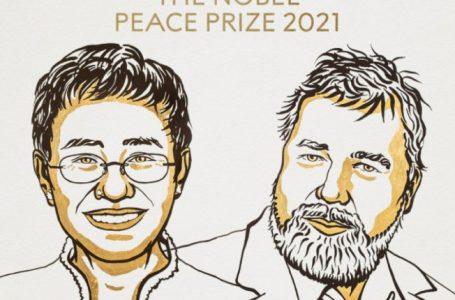 Nobel për Paqe u jepet dy gazetarëve