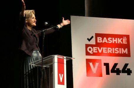 Voton kandidatja për kryetare të Gjakovës nga LVV, Mimoza Kusari – Lila