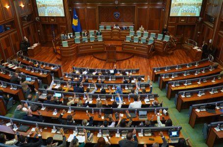 Kuvendi shtyn shqyrtimin e projektligjit për Festat Zyrtare