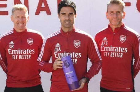 Mikel Arteta shpallet trajneri i muajit Shtator në Premier Ligë