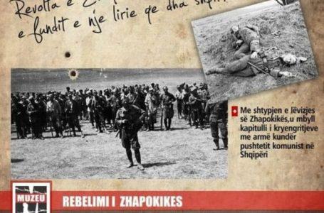 Përkujtohet kryengritja antikomuniste e Zhapokikës